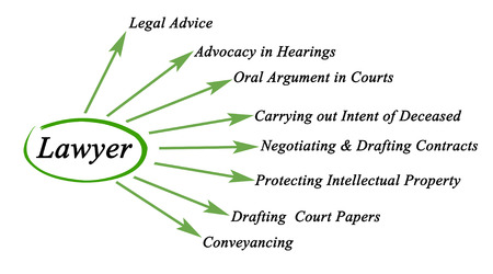 Functions of lawyer photo