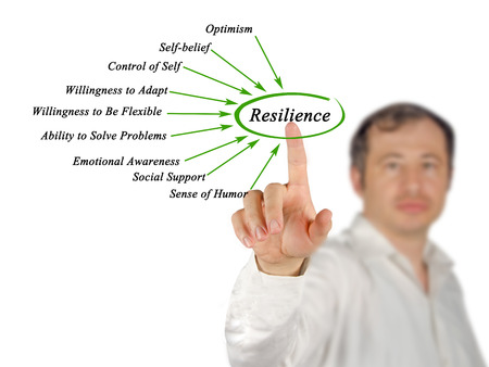 social emotional: Diagram of Resilience