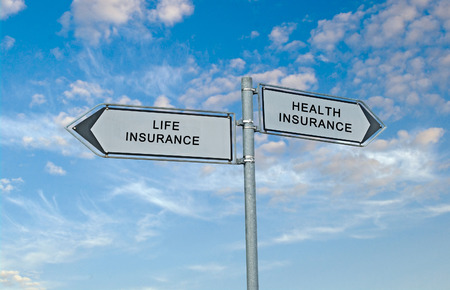 Directions to life and health insurance photo