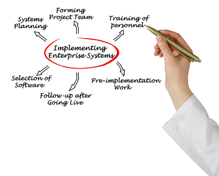 implementing: Implementing enterprise system