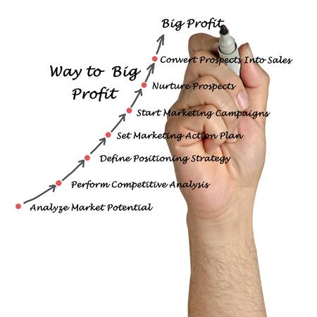 sucess: Way to big profit
