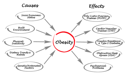psychosocial: Obesity: causes and effects