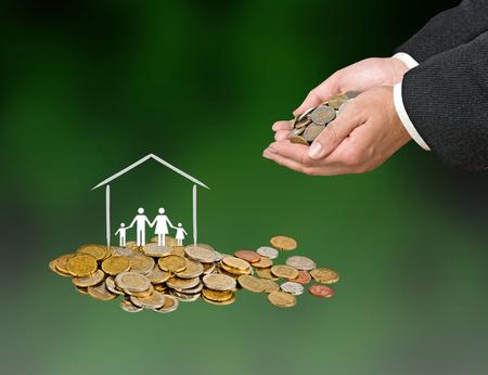 buying: buying house Stock Photo