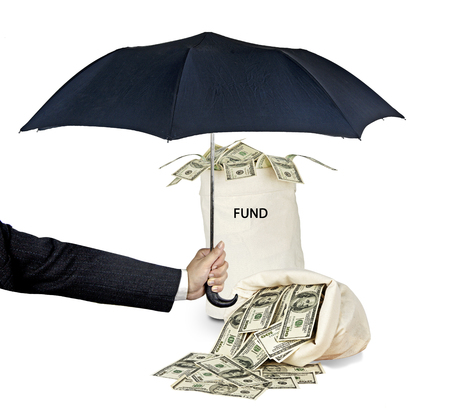 payer: Bag with fund Stock Photo