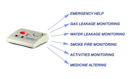 automatically: Emergency responce system Stock Photo