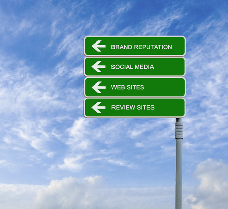 web portal: Road sign to Brand Reputation