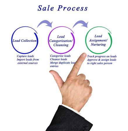 categorization: Diagram of sale process