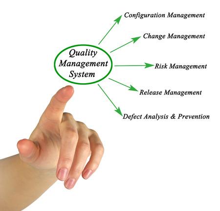 management system: Diagram of Quality Management System