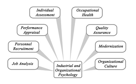 performance appraisal: Industrial and Organizational Psychology Stock Photo