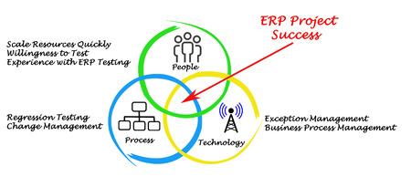 regression: ERP Project Success