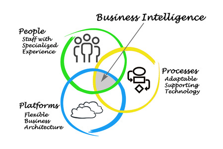 human intelligence: diagram of Business Intelligence