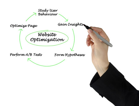 hypotheses: Diagram of Website Optimization