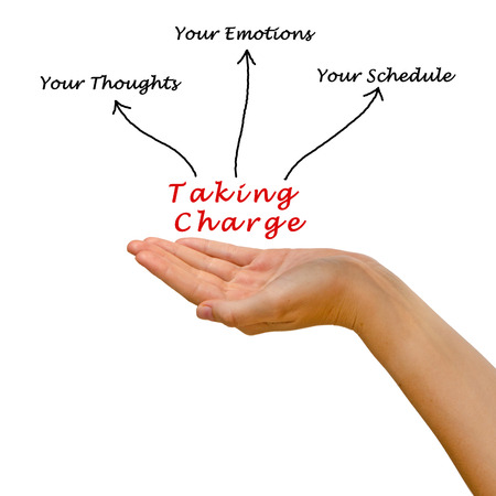 take charge: Taking Charge of Your Thoughts, Emotions, and Schedule