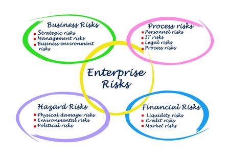 enterprise: Diagram of Enterprise Risks