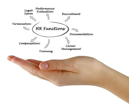 Diagram of HR Functions