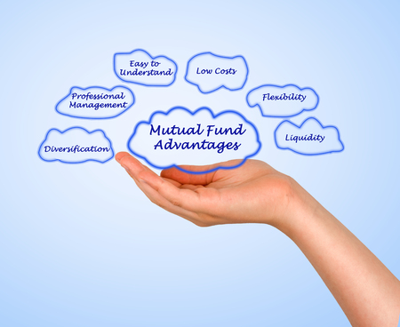 mutual fund: Diagram of Mutual Fund Advantages