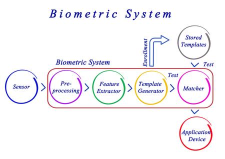 biometric: Diagram of Biometric System