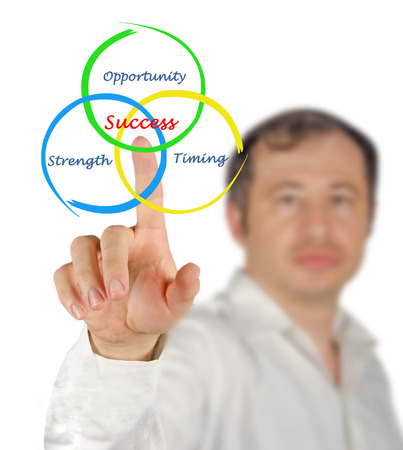strong strategy: Diagram of Success