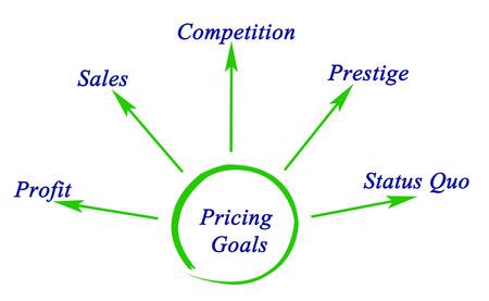 Diagram of Pricing Goals