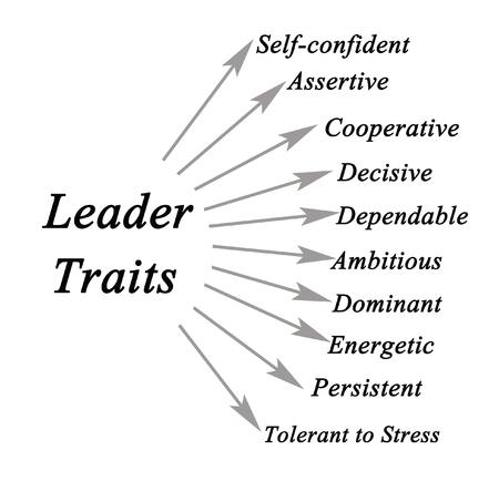 Diagram of leader traits