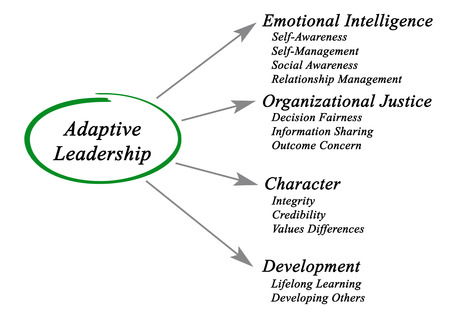 adaptive: Diagram Adaptive Leadership