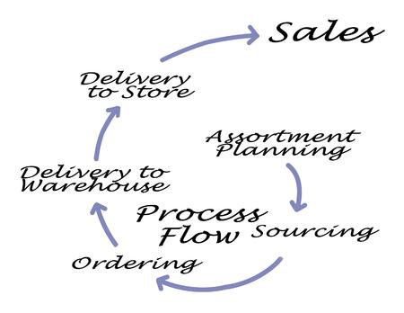 process flow: Diagram of Process Flow