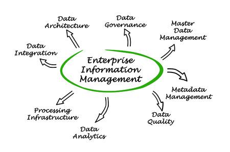 metadata: diagram of Enterprise Information Management