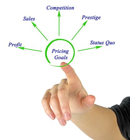 quo: Diagram of Pricing Goals