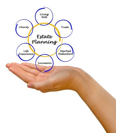 succession planning: Diagram of Estate Planning