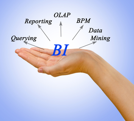 online analytical processing: Diagram of Business Intelligence