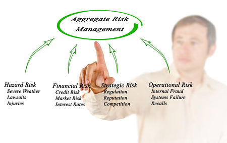 lawsuits: diagram of Aggregate Risk Management