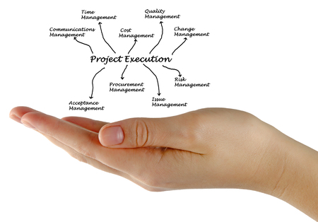execution: diagram of project execution