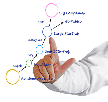 public offering: process of Innovative company growth