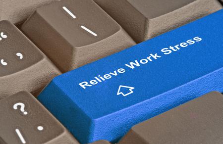 relieve: Hot key to relieve work stress