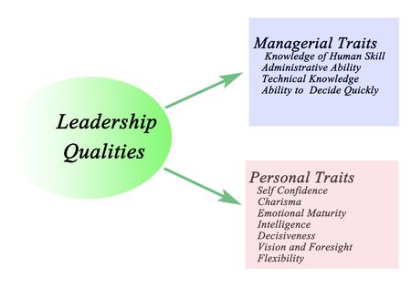 charisma: Diagram of Leadership Qualities