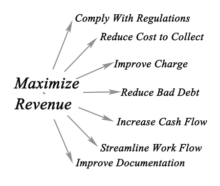 Maximize Your Revenue Cycle Stock Photo