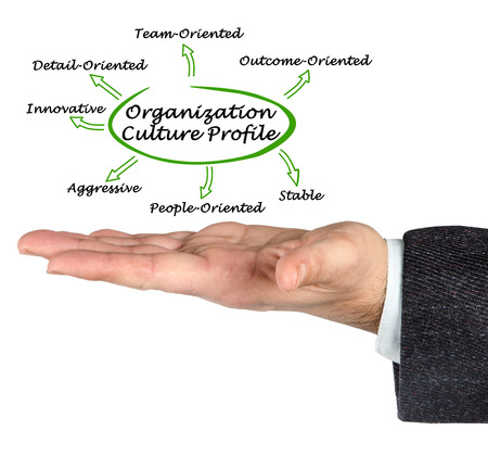 profile: Organization Culture Profile Stock Photo