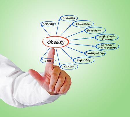 Diagrama de la Obesidad