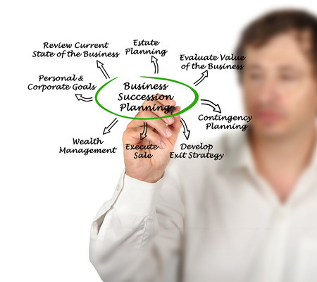 Business Succession Planning Stock Photo
