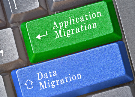 compatibility: Keyboard with keys for data and application migration