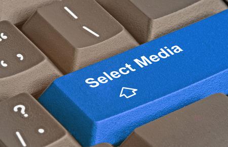 choise: Key for media selection