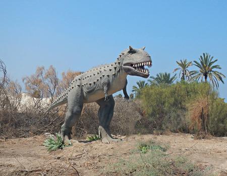 close up: Close up of dinosaur Stock Photo