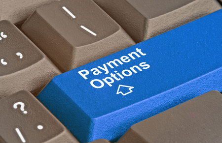 Keyboard with key for Payment Options