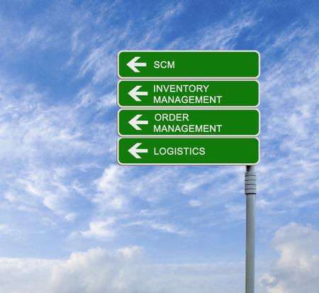 scm: Road sign to scm