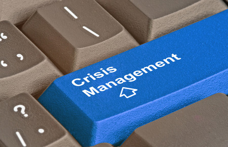 Keyboard with key for Crisis Management