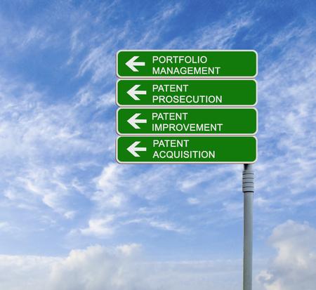 Road sign to portfolio management