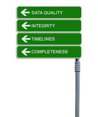 Road sign to Data Quality