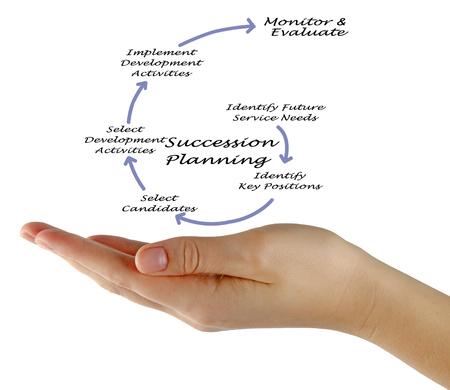 Succession Planning Process Stock Photo
