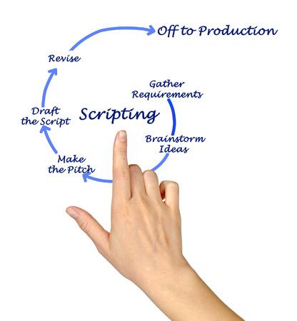 Scripting process
