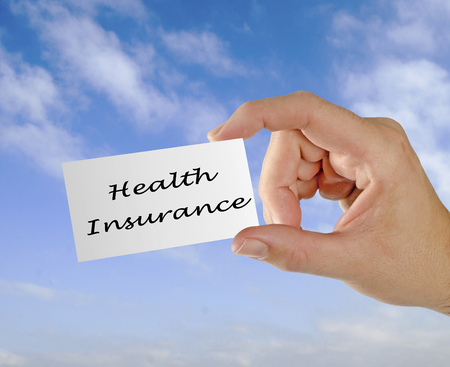 Card with Health insurance